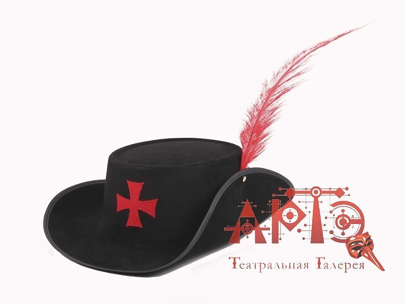Шляпа дартаньяна своими руками 79