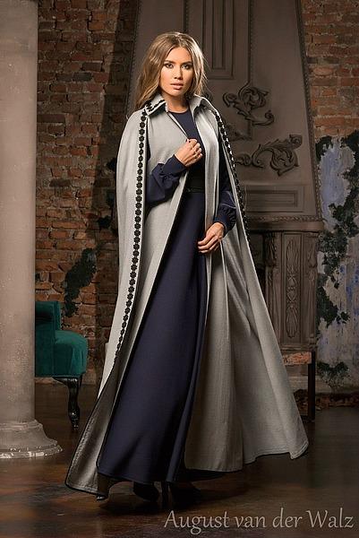 ac665eff26bec5 Женская одежда в русском стиле | August van der Walz