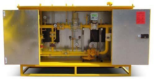 Укомплектован и отправлен заказчику газорегуляторный пункт ГРПН-300-ЭК