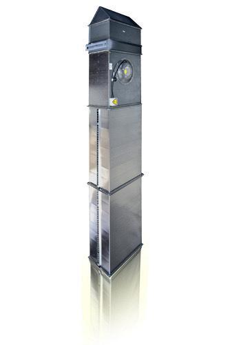 Воздушная завеса VERTRO TVP 60-35 W2/2 с водяным теплообменником