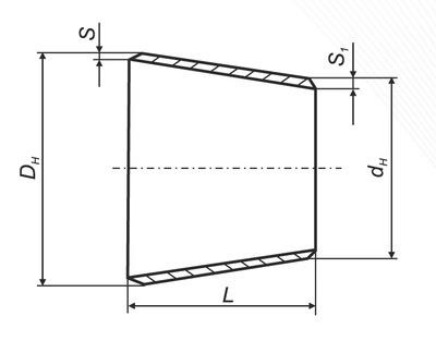 Тройник переходной ТУ 1469-003-42039714-2004