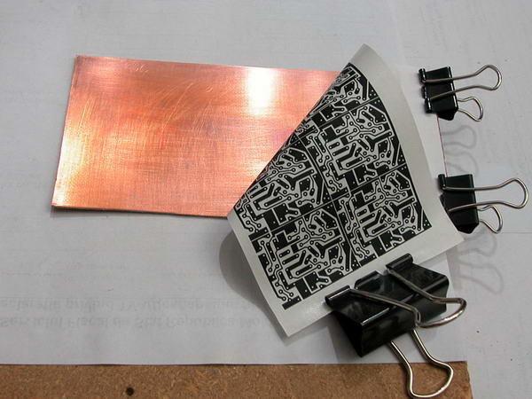 Нанесение рисунка печатных плат в домашних условиях