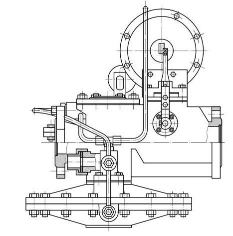 Клапан КТЗ-001-15 В-В (Промтехнологии)