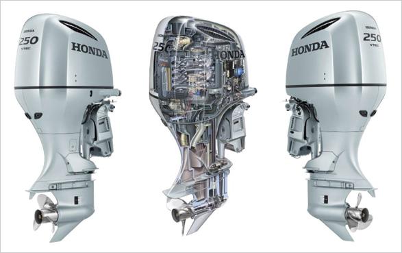 редуктор лодочного мотора хонда 250