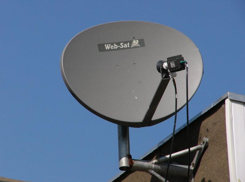 Спутниковый интернет в украине  видео 180