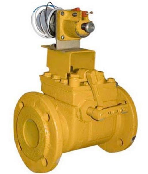 предохранительный запорный клапан ду100